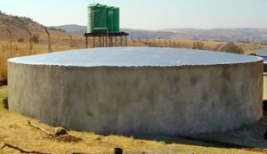 Concrete Reservoir Water Tanks