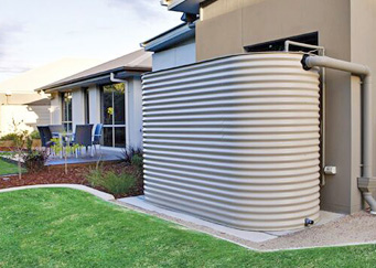 Rainwater storage Home water tanks